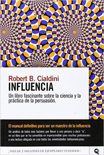 10 Buenos Libros de Ventas Cris Urzua Influencia Robert Cialdini